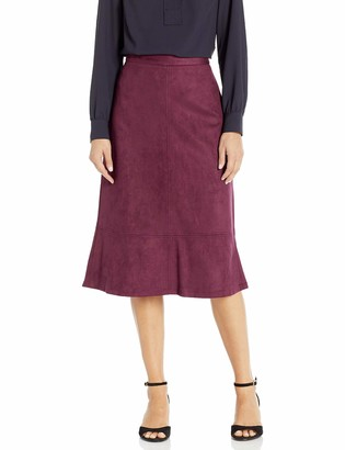 Kasper Women's Ultra Suede Skirt