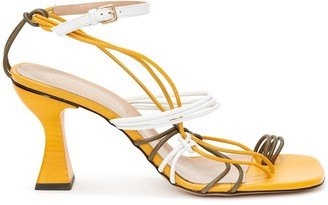 J.W.Anderson Strappy Calf Leather Sandals