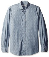 James Campbell Men's Halcyon Dobby Long Sleeve Shirt