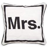 """Jonathan Adler Mrs."""" Needlepoint Throw Pillow"""