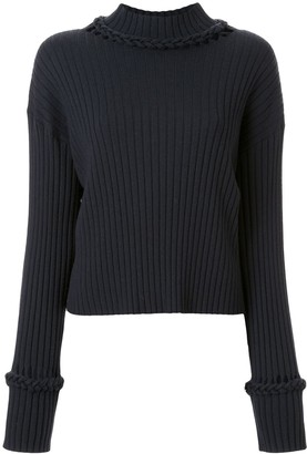 Dion Lee Braid Trimmed Jumper