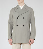 Reiss Sandbrooks Cotton Peacoat