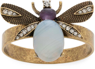 Joanna Buchanan Etched Wing Bug Skinny Napkin Rings, Set of 4