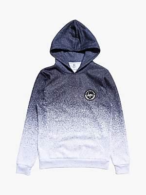 Hype Boys' Speckle Fade Hoodie, Black/Grey