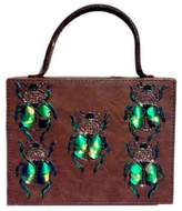 Simitri Designs - Brown Bugged Briefcase