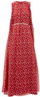 Max Mara Smalto Dress - Womens - Red Gold