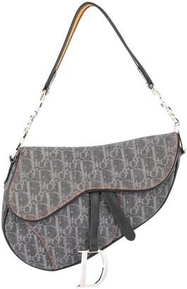Christian Dior pre-owned Trotter saddle handbag