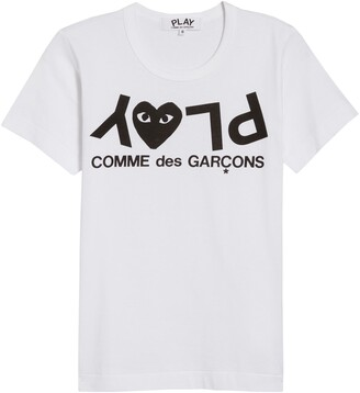 Comme des Garcons PLAY Logo Graphic Tee