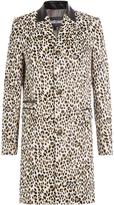 Just Cavalli Leopard Print Coat