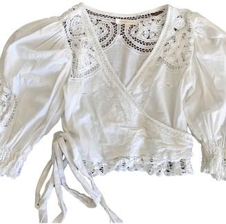 LoveShackFancy White Cotton Tops