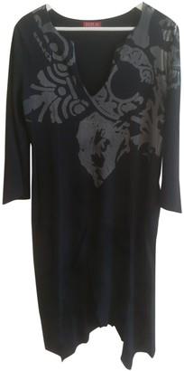 Replay Black Cotton Dress for Women