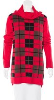 Kate Spade Plaid Turtleneck Sweater