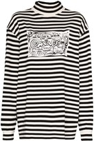 Eytys Compton striped oversized top