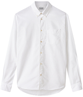 Jigsaw Bound Edge Oxford Shirt, White