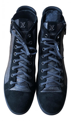 Louis Vuitton Silver Stingray Trainers