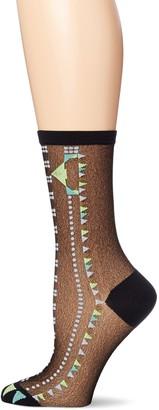 Ozone Women's Japanese Golden Toes Crew Sock