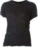 Issey Miyake creased T-shirt