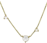 WWAKE Three Step Rose Cut Diamond Necklace