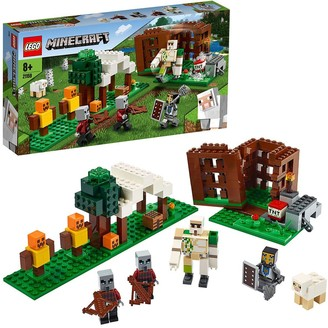 Lego 21159 The Pillager Outpost with Iron Golem Figure