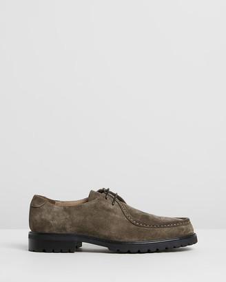 Double Oak Mills Werth Suede Derby Shoes