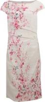 Monique Lhuillier Cherry Blossom Lace Dress