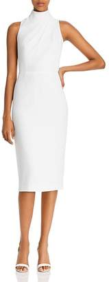 Jay Godfrey Newton High Neck Sheath Dress