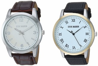 Steve Madden Fashion Watch (Model: SMWS69BK-BR)