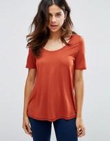 Asos Knitted U Neck T-shirt