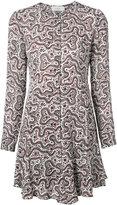 A.L.C. printed mini dress - women - Silk/Polyester - 4