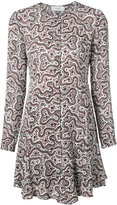A.L.C. printed mini dress - women - Silk/Polyester - 8