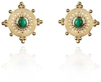 Perle de Lune Talisman Earrings
