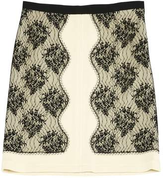 Alessandro Dell'Acqua Beige Wool Skirt for Women