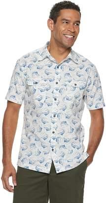 Croft & Barrow Men's Classic-Fit Quick-Dry Button-Down Shirt
