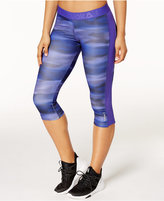 Reebok Printed Capri Leggings