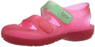 Igor S10146 Girls' Bondi Jelly Sandal