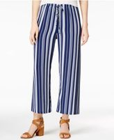 Ultra Flirt Juniors' Cropped Wide-Leg Pants