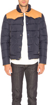 Penfield Pelam Leather Yoke Down Jacket