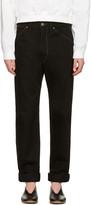 Lemaire Black Slim Jeans