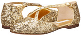 Dolce & Gabbana Paillettes Sandal (Little Kid/Big Kid)