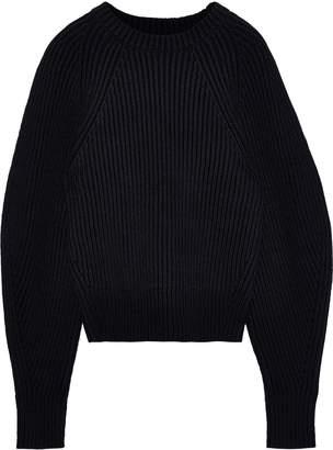 Derek Lam Ribbed Cotton-blend Sweater