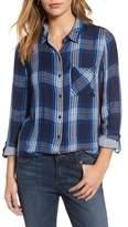 Lucky Brand Women's Plaid Pocket Shirt