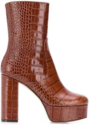 Paris Texas Platform Ankle Boots
