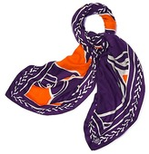 Tory Burch Trocadero Oversized Square Scarf