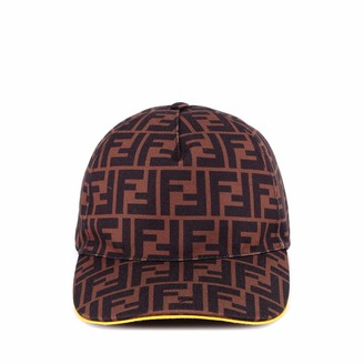 Fendi All-Over Logo Baseball Hat