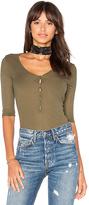 LAmade Ingrid Bodysuit in Green. - size M (also in S,XS)