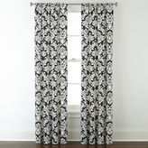 JCPenney Home ExpressionsTM Thermal Damask Rod-Pocket Curtain Panel