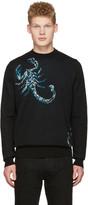 Diesel Black Gold Black Scorpio Sweater
