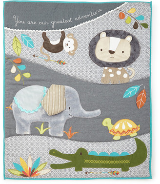 Nursery Bedding Sets The World S, Purple Elephant Mini Crib Bedding