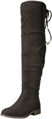 Brinley Co. Women's SPUR Over The Knee Boot