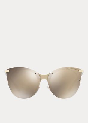 Ralph Lauren Square-Bridge Sunglasses